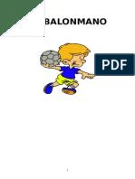 Trabajo de Balonmano