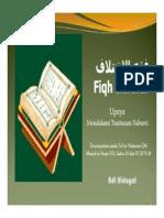 Fiqh Ikhtilaf 28 Maret 20151