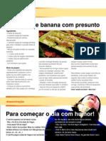 Bolinho de Banana Com Presunto