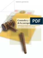 Controles y Descontroles de La Corrupción Judicial