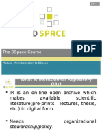 An Introduction to DSpace