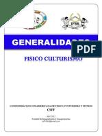Reglamento Csff - Ifbb 2012
