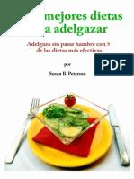Las 5 Mejores Dietas Para Adelg - Susan B. Peterson