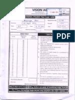 Topper Answer Booklet 3- General Studies ( Rank -16 , 2014 ) -Ananya Das