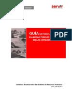 Guia Metodologica Elaborar Perfiles Puestos Entidades Publicas