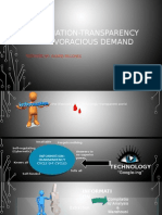 Information Transparency Cycle