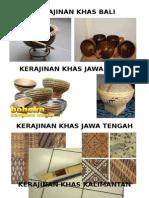 Kerajinan Khas Nusantara