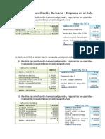 Ejercicios de Conciliación Bancaria