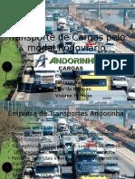 Transporte de Cargas Pelo Modal Rodoviário-Versão 1