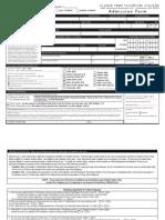 Admission Form 6