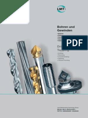 Form B DIN371 nitriert EXACT Gewindeformer M6 HSS-E