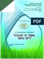 UrbanEco 2014 Proceedings