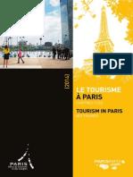 Le Tourisme à Paris Chiffres Clés 2014