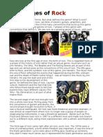 Rock - Genre - Media Studies