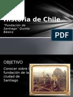 Historia de Chile Fundación de Santiago