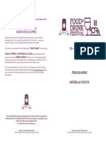 Gatley Food and Drink Festival Programme for Printing