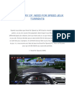 The History of Need for Speed Jeux Torrents