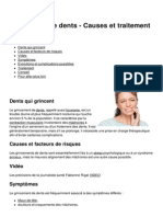 Grincement de Dents Causes Et Traitement 17529 Npbjbu