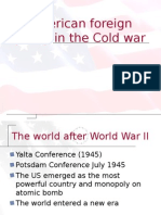 US Foreign Policy in the Cold War1