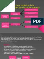 Estructura orgánica de la municipalidad provincial de Abancay.pptx