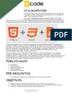 HTML CSS JavaScript - BeCode