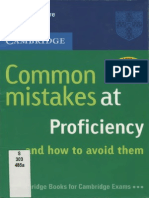 Common Mistakes at Proficiency...and How to Avoid Them {PRG}
