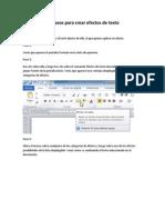 Formatos de Texto y Captura de Pantalla