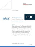 Test Data Management Strategy