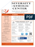 UCC Bulletin 10-4-2015