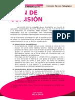 Plan de Comisión tecnico pedagogico