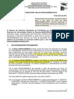Edital n. 37-2015-Daes-prae-ufrr Bolsa Proacademico - 2015
