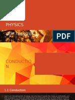 Physics STPM HEAT TRANSFER