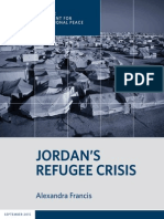 Jordan's Refugee Crisis