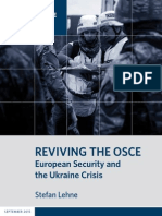 Reviving the OSCE