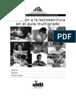 2-Iniciacion a La Lecto Escritura - Multigrado - Copia
