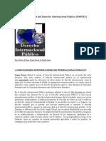 Aspectos Generales Del Derecho Internacional Público