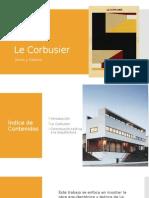 La teoría de Le Corbusier