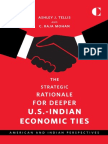 The Strategic Rationale for Deeper U.S.-Indian Economic Ties