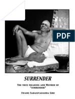 Surrender- The True Meaning