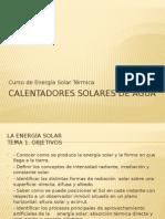 Curso energia solar térmica