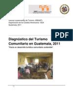Diagnostico Turismo Comunitario Guatemala 2011