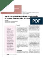 Etnografia Del Deporte en Revista