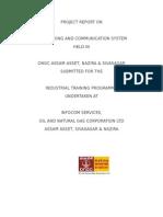 ongc training report ,Nazira
