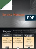 Presentacion - Service Manager