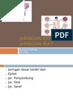 Jaringan Epitel Dan Jaringan Ikat.ppt Dr.faisal Balatif