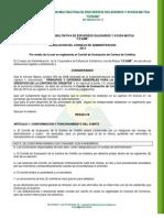 reglamento de comite de evalucion de cartera