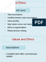 Chapter 2 Values