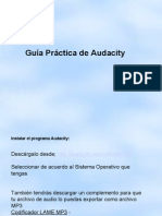 Guia de Audacity