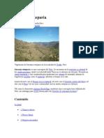 Serranía esteparia
