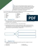 Derecho Administrativo y Civil